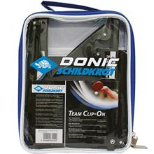 Donic Schildkrot Team Clip-On Ping Pong Net Post Set