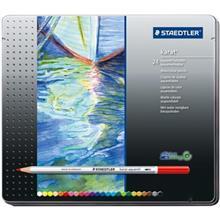مداد آبرنگی 24 رنگ استدلر مدل Karat