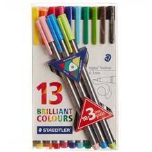 روان نويس 13 رنگ استدلر مدل Triplus Brilliant Colours