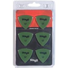 Stagg SPELLIX6-0.73 Triangle Guitar Picks
