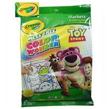 بسته رنگ آمیزی کرایولا سری Color Wonder مدل Toy Story 3