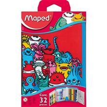 بسته رنگ آمیزی مپد مدل Monsters - بسته 32 عددی