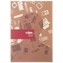 دفتر 40 برگ کلیپس طرح رسانه جلد شومیز