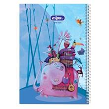 Clips 50 Sheets Traveller Design 2 Soft Cover Drawing Notebook