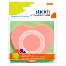Hopax Heart Sticky Notes 21545