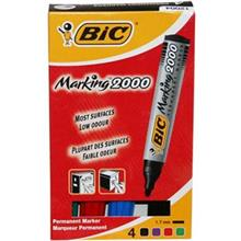 Bic Marking 2000 Marker - Pack of 4