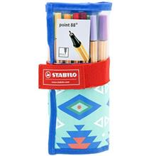 Stabilo Point 88 25 Color Rollerball Pen