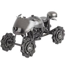 تنديس فلزي مدل Motorcycle With 4 Wheel