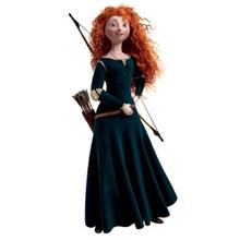 استیکر رومیت مدل Brave Merida Peel And Stick Giant Wall Decal