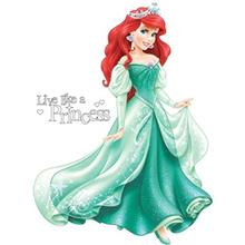 استيکر روميت مدل Disney Princess Arial Giant Wall Decal