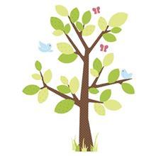 استيکر روميت مدل Dotted Tree Appliques