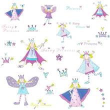 استیکر رومیت مدل Fairy Princess Appliques
