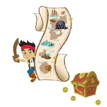 استیکر رومیت مدل Jake And The Pirates Growth Chart