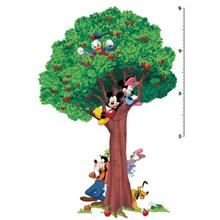 استيکر روميت مدل Mickey And Friends Peel And Stick Growth Chart