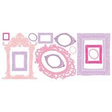 استيکر روميت مدل Pink And Purple Frames