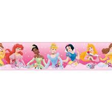 استيکر روميت مدل Princess From The Heart Pink Peel And Stick