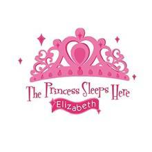 استيکر روميت مدل Princess Sleeps Here
