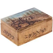 جعبه سنگ مرمر اثر بابايي طرح سي و سه پل سايز 15 × 10 سانتي متر