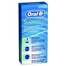 نخ دندان سوپرفلاس اورال بی مدل  SuperFloss