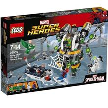 لگو سري Super Heroes مدل Spider Man Doc Ocks Tentacle Trap Construction Set 76059