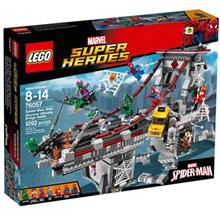 Super Heroes Spider Man Web Warriors Ultimate Bridge Battle 76057