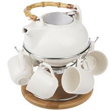 سرويس 8 پارچه چاي خوري سيلويا مدل 277228