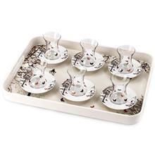سرویس 13 پارچه چای خوری شفر مدل 360