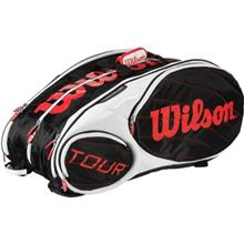 Wilson Tour 15PK BKWHRD Tennis BackPack