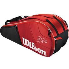 Wilson Federer Team 6PK RDWH Tennis Bag