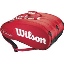 Wilson Tour Molded 15 PK Red Tennis Bag
