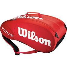 Wilson Tour Molded 9PK Red Tennis Bag