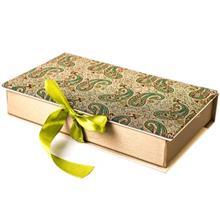 جعبه کارد و چنگال ترمه سنا مدل کتابي