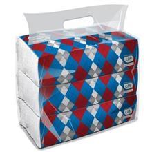 دستمال کاغذی بارلی مدل سافت پک بسته ۶۰۰ برگی دولا