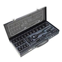 مجموعه 26 تايي آچار بکس 12 پر نووا مدل NTS-7000