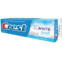 خمیر دندان کرست مدل  3D White Fresh Cool Water تیوب 100 میلی لیتر