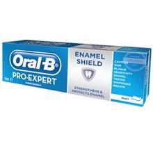 خمیر دندان اورال-بی سری Pro Expert مدل Enamel Shield تیوب 75 میلی لیتر