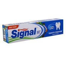 خمیر دندان سیگنال مدل Cavity Fighter Herbal Extract تیوب 50 میلی لیتر