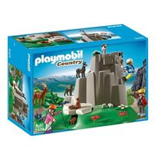ساختني پلي موبيل مدل Rock Climbers with Mountain Animals 5423