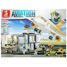 اسباب بازي ساختني اسلوبان مدل International Airport M38-B0367