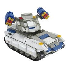 اسباب بازي ساختني اسلوبان مدل Police Vulcan Missile Tank M38-B0206