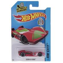 Mattel HW City Scoopa Di Fuego Toys Car