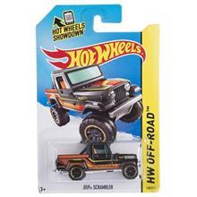 ماشين اسباب بازي متل مدل HW Off-Road Jeep Scrambler