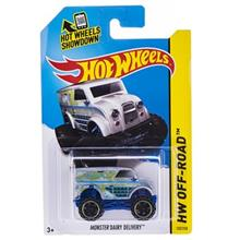Mattel HW Off-Road Monster Dairy Delivery Toys Car