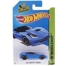 ماشين اسباب بازي متل مدل HW Workshop 2014 Corvette Stingray