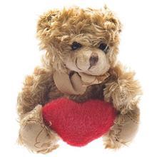 عروسک پوليشي مدل خرس قلب به دست سايز خيلي کوچک