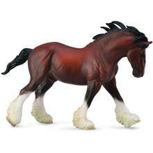 Collecta Horse Clydesdale Stallion Bay 88621 Size 2 Toys Doll