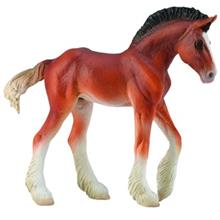 Collecta Horse Clydesdale Foal Bay 88625 Size 2 Toys Doll