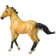 Collecta Horse Akhal Teke Mare Buckskin 88624 Size 2 Toys Doll