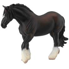 Collecta Horse Shire Horse Mare Black 88582 Size 2 Toys Doll