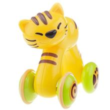 Happy Kid Cat Press And Go Animals Toys Doll